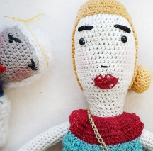 Je serai la plus belle en crochet