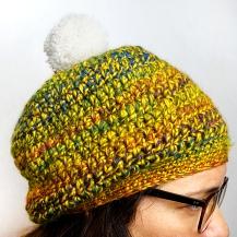 Un bonnet avec un pompon !