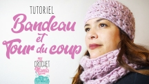 Tuto snood et bonnet point d'étoile
